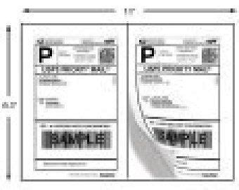 Half Page Label Template