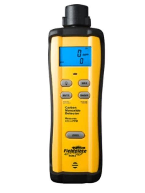 Co Carbon Monoksida Tester fieldpiece scm4 carbon monoxide co detector replaces