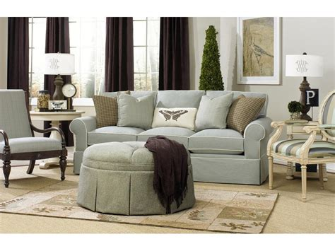 living room upholstery paula deen by craftmaster living room three cushion sofa