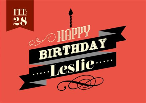 imagenes de happy birthday leslie happy birthday leslie vector free vector graphic download