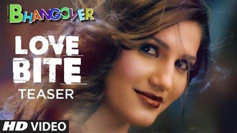 sapna choudhary love bite song teaser love bite journey of bhangover sapna