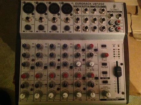 Mixer Behringer Ub1202 behringer eurorack ub1202 image 1668580 audiofanzine