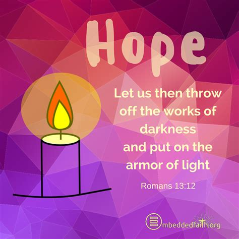 Put Your Faith In The Light by Sunday Of Advent Cover And Image Cycle A