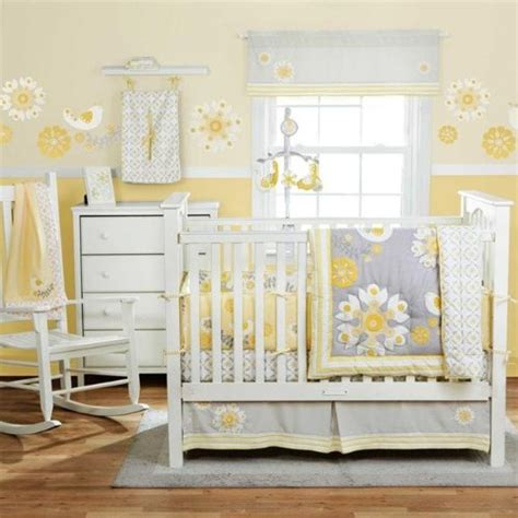 Yellow And Grey Nursery Curtains Yellow And Grey Baby Room Decorating Ideas Bedroom Decor Ideas