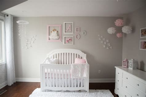 pink and grey baby room pink and gray baby nursery tour oh she glows