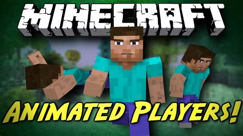 minecraft better animations mod minecraft mod showcase animated players better