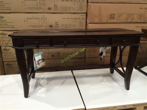 bayside furnishings writing desk bayside furnishings 60 writing desk costcochaser