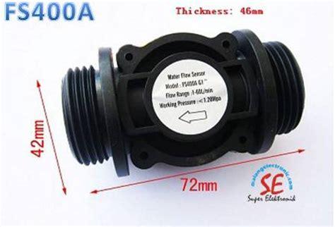 Harga Water Flow Sensor Fs400a G 1 Inch Flow Sensor water flow sensor aneka tipe dan ukuran jenis flow meter air electronics