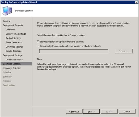 How To Deploy Software Update In Sccm Step By Step With Screenshots Part 3 Software Deployment Email Template