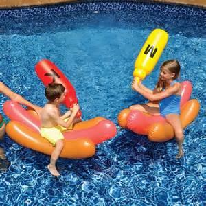 Backyard Water Slides Swimline Dog Battle Float Set Toysplash Com