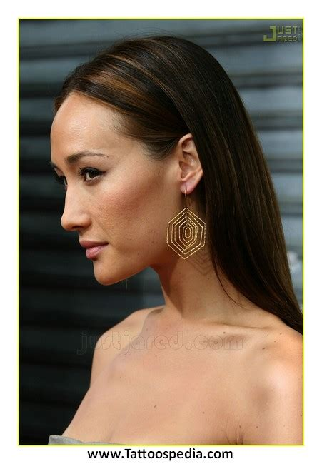 q tattoo the gallery for gt maggie q