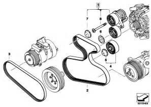 original parts for e70 x5 3 0si n52n sav engine belt