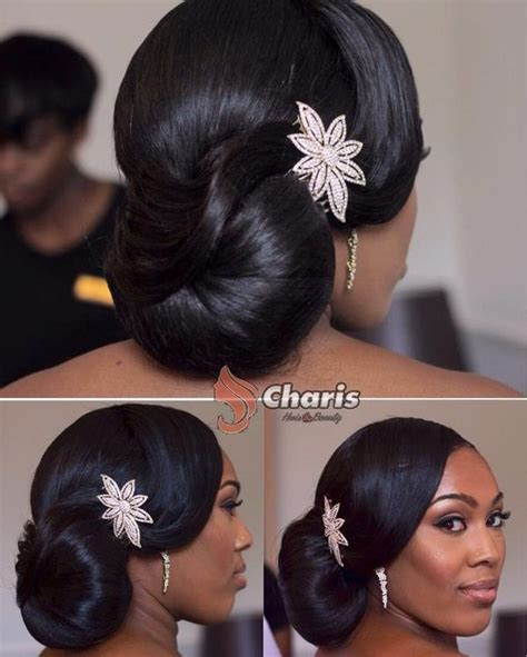 Bridesmaid Hairstyles For Black Hair by Wedding Hairstyles For Black American