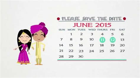 Dhruv Nishka S Wedding Save The Date Youtube Save The Date Indian Wedding Templates Free