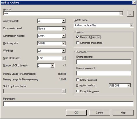 windows 8 extract files from archives zip 7z etc windows 7 zip how to open add to archive dialog box