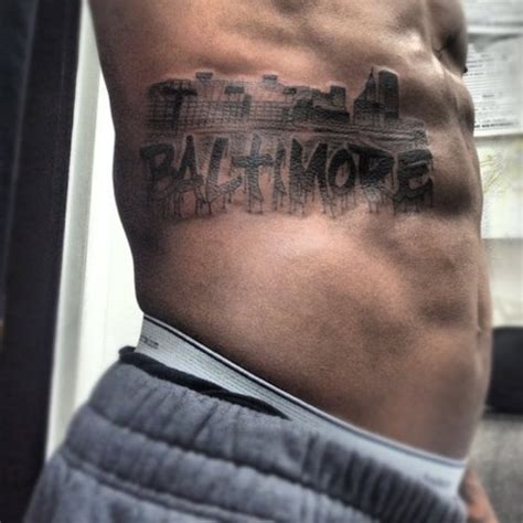 baltimore tattoos awesome baltimore ravens tattoos