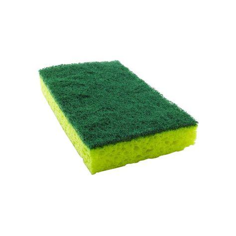 kitchen sponge scotch brite kitchen scrub sponge mmm420 the home depot
