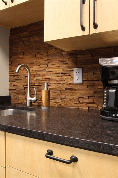 wood backsplash kitchen wood backsplash for the home