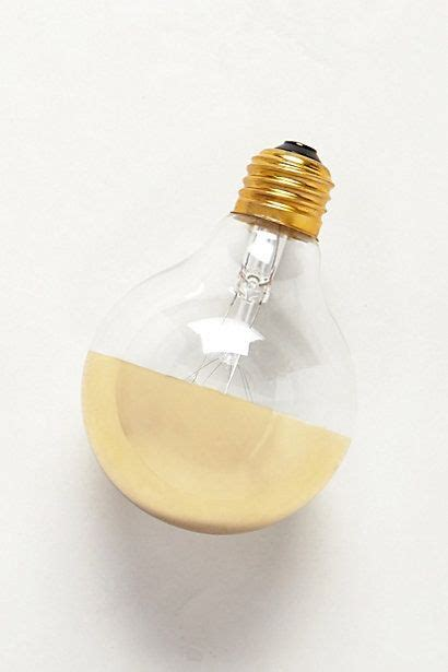 half gold globe light bulb kitchen
