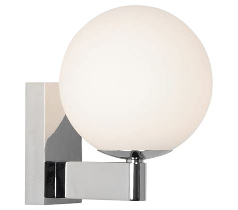 astro sagara bathroom wall light polished chrome finish