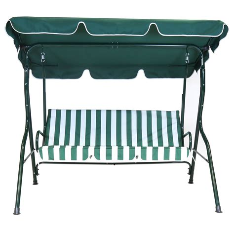 swing seat cushions homebase charles bentley 2 seater garden swing seat buydirect4u