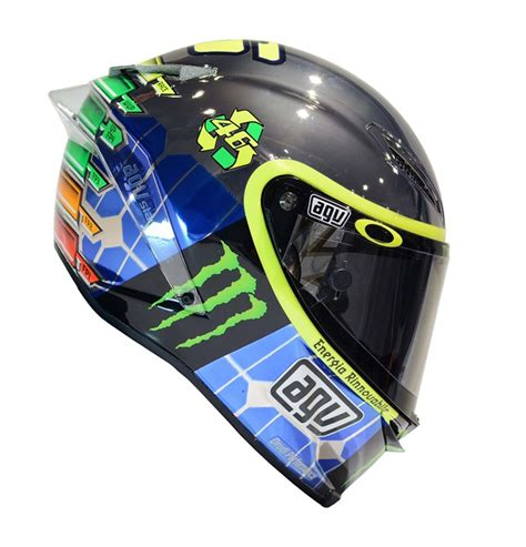 Helm Agv Yellow Energy Valentino Yellow Energy Helmet Mugello 2015