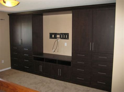 wardrobe with tv stand california closets bedroom