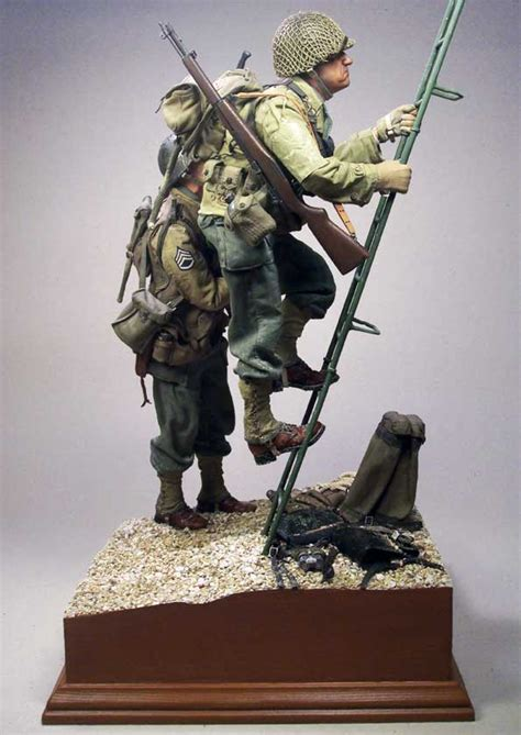 what if d day had failed armchair general armchair point du hoc d day june 6th 1944 1 6 dioramas