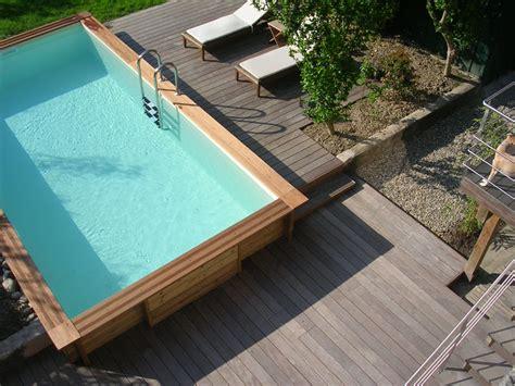 faire une piscine en bois 2672 nivrem installation terrasse bois piscine diverses