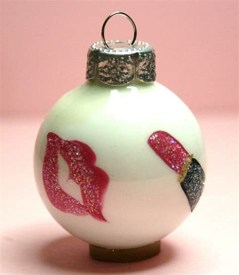 decorate your christmas tree with makeup ornaments