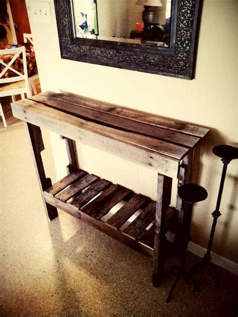 entry table   pallets google search repurposed