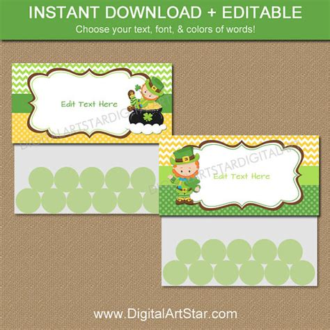goodie bag label template st s day goodie bag toppers printable treat bag