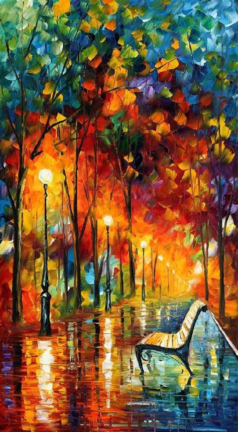 The Symphony Of Light Afremov By Leonidafremov On