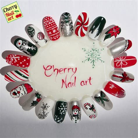 deco ongle noel 2016 ongles deco hiver 2016