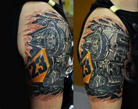 biker tattoos for men 70 biker tattoos for manly motorcycle ink design ideas
