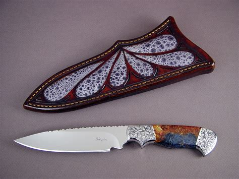 Handmade Unique - quot altair quot custom handmade knife by fisher