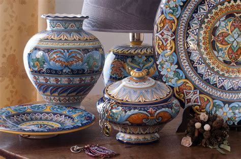 lade di ceramica lade ceramica deruta italian pottery ceramics majolics
