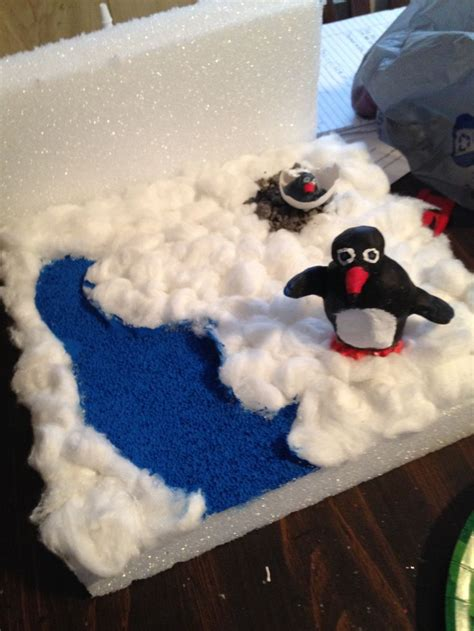 penguin craft projects 17 best images about science penguin diorama on