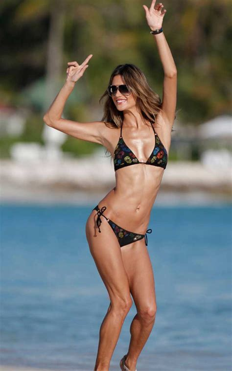 alessandra ambrosio string fashion trends styles