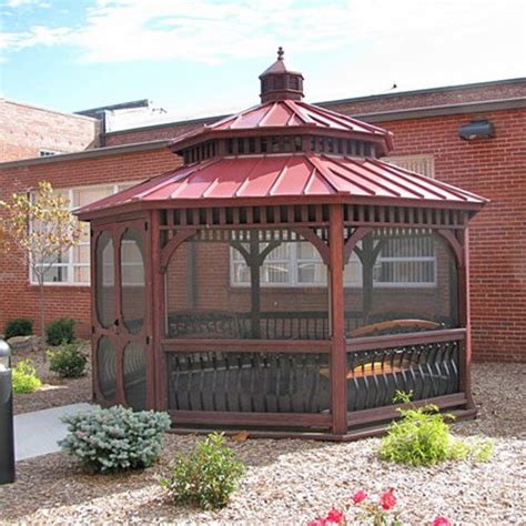 octagon gazebo octagon wood gazebos country gazebos