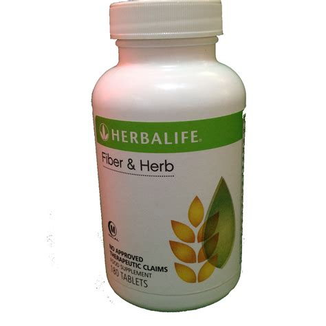 Herbalife Fiber And Herbs herbalife fiber and herb supplement
