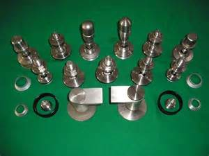 stainless steel sus316 glass spider fitting fastener made