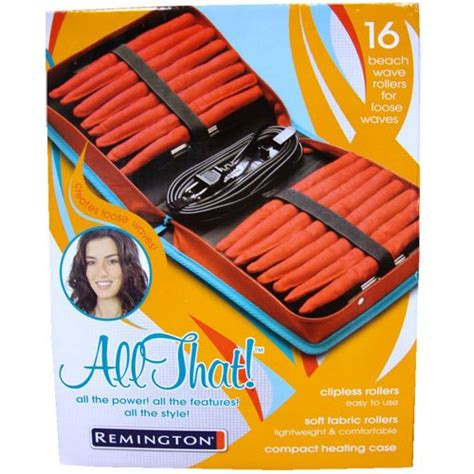 Remington Heated Rag Rollers by Best Remington All That Wave Rollers Overview
