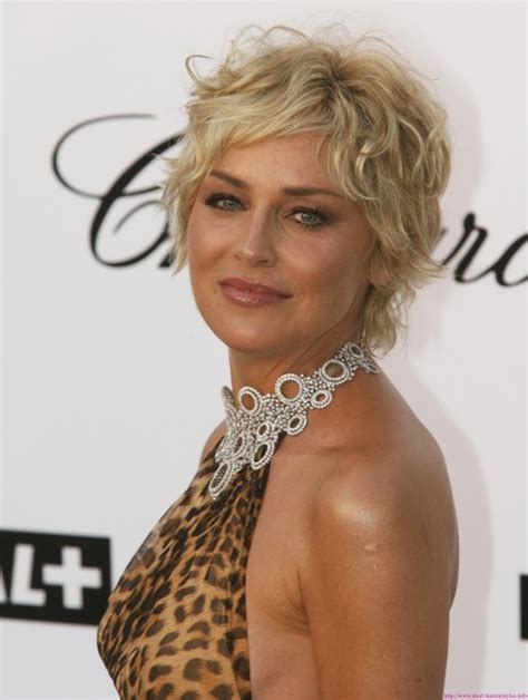 sharon stone most recent hairstyle 20 most attractive short curly hairstyles for 2012