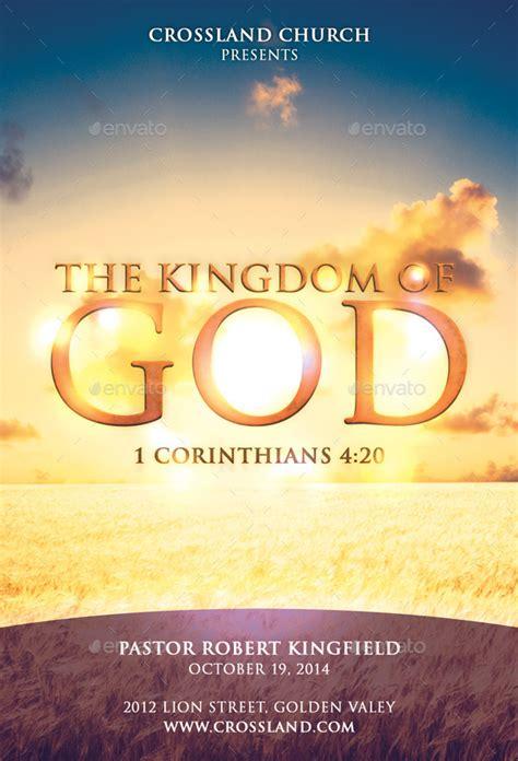 kingdom  god church flyer  bmanalil graphicriver
