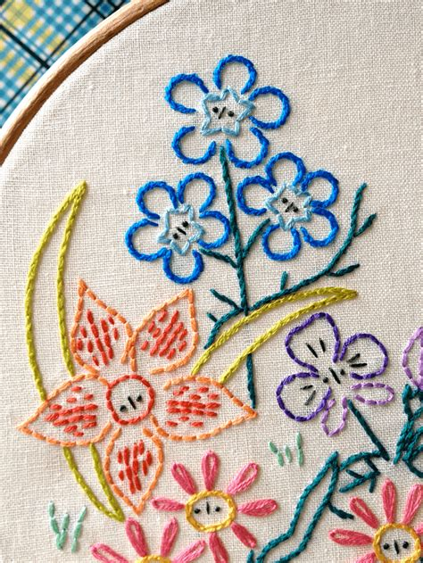 Free Handmade Embroidery Designs - embroidery made simple free pattern of
