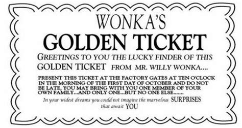 willy wonka ticket template wonka bar coloring pages