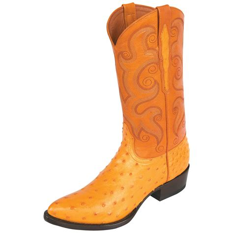 ostrich boots s sedona west quill ostrich boots r toe