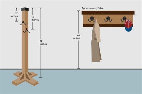 what height to hang pictures the height on a wall to hang a coat rack with pictures