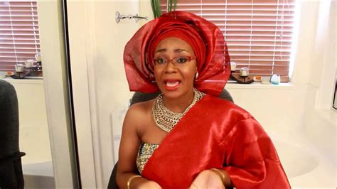 bridal gele on the you tube how to tie gele bridal style ii youtube
